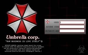 UMBRELLA CORPORATION DESKTOP THEME | RAINWEAR