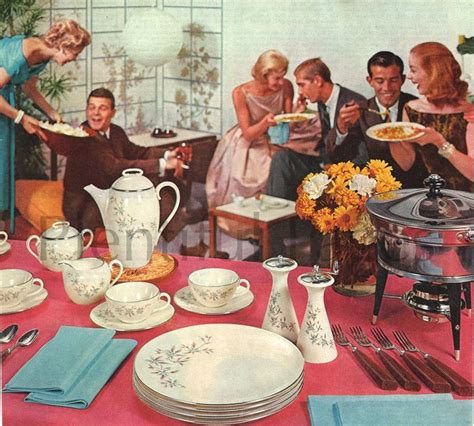 The 122 Best Images About 1950s Home Entertaining On