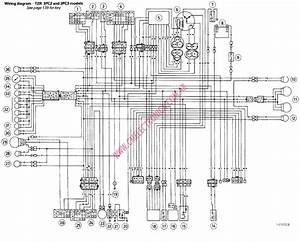 Diagrama Yamaha Tzr3