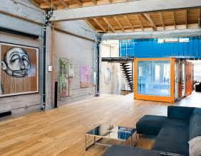 Container Home Interiors Shipping Container Homes Shipping Containers In Loft Apartment San Francisco California