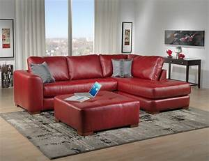 living room ideas red leather sofa 1025thepartycom With red sectional sofa decorating ideas