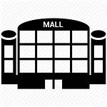 Shopping Clipart Icon Mall Centre Library Building