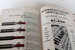 Encyclopedia Of Welding Mid Century Vintage  Metal Working