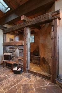 9, Beautiful, Rustic, Barn, Bathroom, Design, Ideas, Rusticbathroomwithbarntin, With, Images