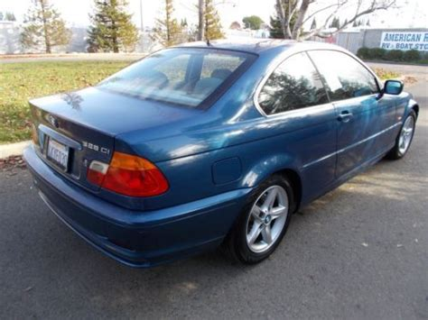 2000 Bmw 328ci by Sell Used 2000 Bmw 328ci Base Coupe 2 Door 2 8l Blue