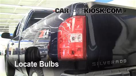 rear turn signal replacement chevrolet silverado