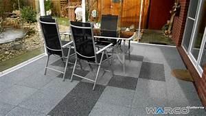 Warco Platten Preis : carrelage terrasse dalle en caoutchouc warco ~ Sanjose-hotels-ca.com Haus und Dekorationen