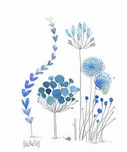les 25 meilleures idees de la categorie dessins de fleurs With chambre bébé design avec aquarelle fleurs deuil