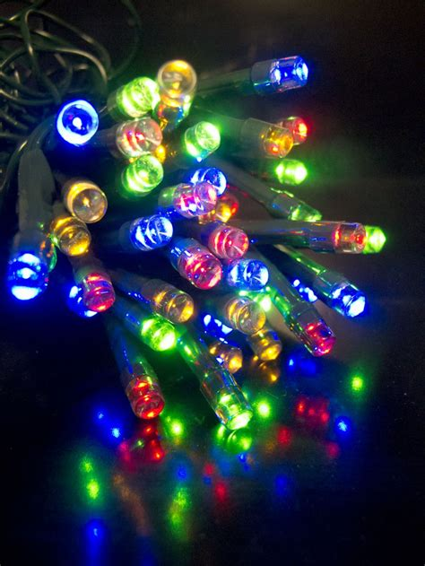 brightest led christmas lights 100 multi colour lighting connect super bright led string