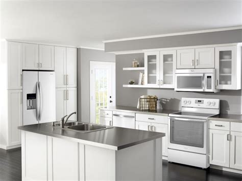 white kitchen cabinets with white appliances pictures of white kitchens with stainless steel appliances