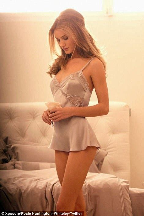 Rosie Huntington Whiteley Launches Vintage Inspired Lingerie Line At M S And Models It Herself