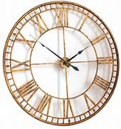 Wall Clocks Large by Extra Large Gold Wall Clock Decofurnish
