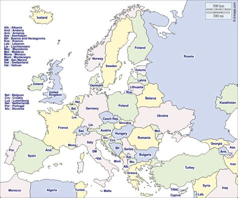 Europe Carte Vierge Gratuite by Europe Carte G 233 Ographique Gratuite Carte G 233 Ographique