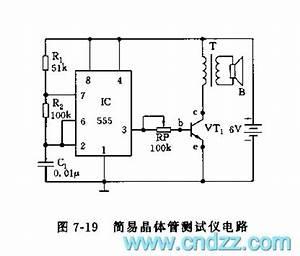 555 simple transistors tester circuit circuit diagram world With 555 tester circuit