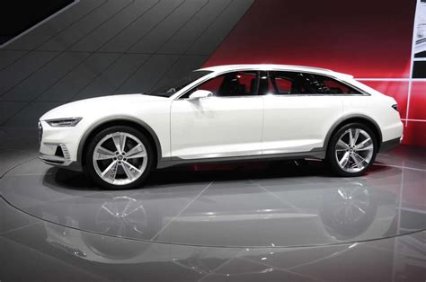 Audi Reveals The Prologue Allroad Concept At Shanghai