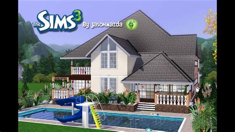 Sims 3 Ps3 Houses Litlle Blueprints