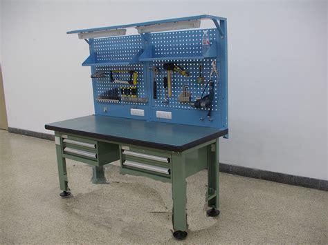 multifunctional metal steel workbench design  workshop