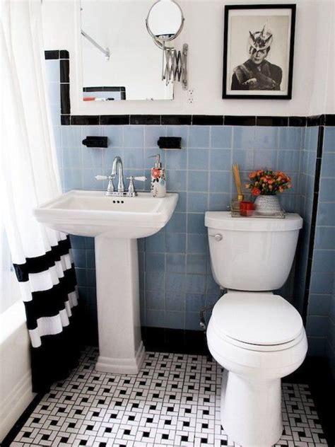 black and white bathroom tile designs 35 vintage black and white bathroom tile ideas and pictures