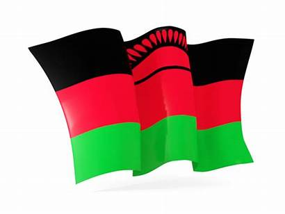 Malawi Flag Waving Flags Illustration Official Country