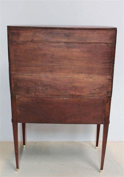 bureau en acajou bureau cylindre louis xvi en acajou xviiie antiquites