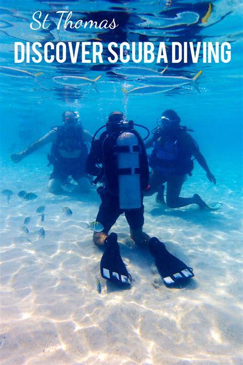 discover scuba diving  st thomas