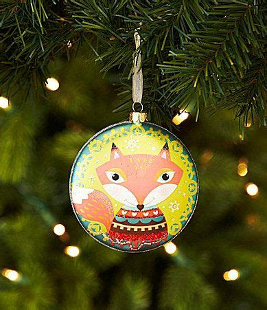 Dillards Ornaments 2013 by Woodland Foxes And Dillards On