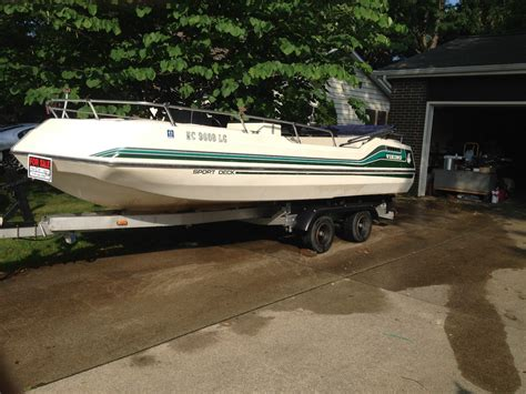 Deck Boat Viking by Viking Sc 190 1982 For Sale For 2 250 Boats From Usa