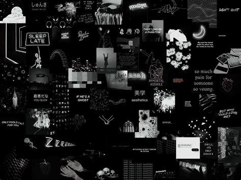 grunge black aesthetic horizontal wallpapers