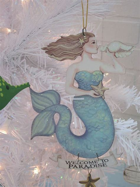 mermaid ornaments 1000 ideas about mermaid ornament on ornament and shell ornaments