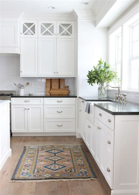 white colour kitchen most popular cabinet paint colors 411 | Cabinets painted with Simply White Benjamin Moore. Studio McGee Design. 731x1024