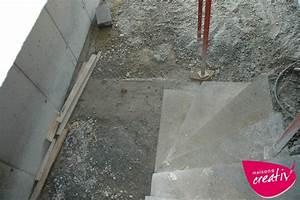 fondations fondation d escalier les etapes de construction With maison en beton coule 5 fondations fondation maison etage les etapes de construction