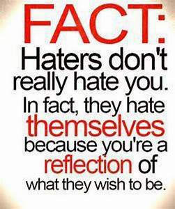 Good Quotes About Haters. QuotesGram