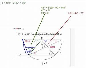 Strahlensätze Berechnen : dreieck geometrie beta gesucht winkel in kreisbogen ~ Themetempest.com Abrechnung