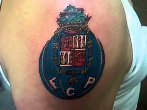 Dinardotattoo Fcporto Logo Tattoo