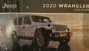For 2020 Jeep Wrangler Owners User Quick Reference Guide W