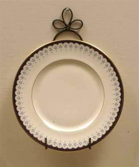 curly cue  plate vertical wall display hanger holder   plates black metal ebay