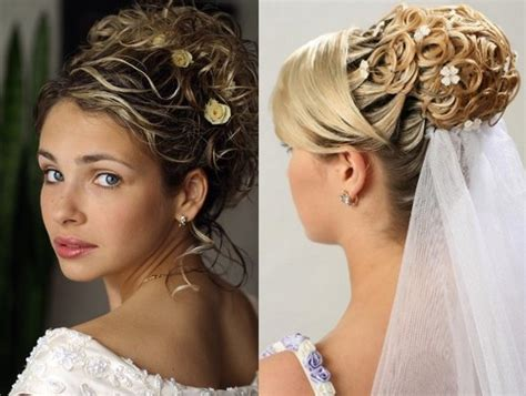 Wedding Hairstyles :  Modern Wedding Hairstyles With Bun