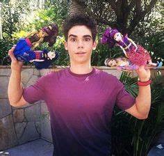 Cameron Boyce With Karan Brar And Dove Cameron At The ...