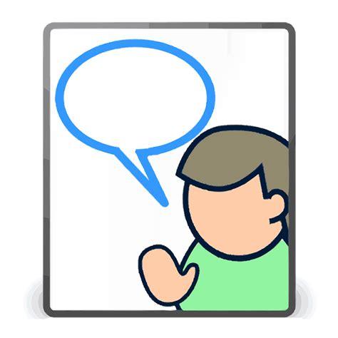 Person, User, Talk, Comment, Discuss, Speak Public