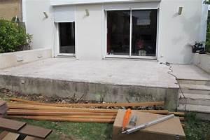 terrasse en hauteur beton systembaseco With terrasse en hauteur beton