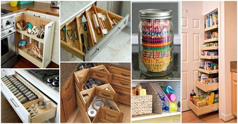 astuces rangement cuisine diy kitchen storage ideas