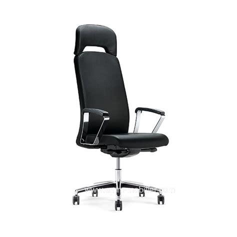 fauteuil de direction belive avec appui tête et accoudoirs