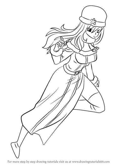 learn   draw juvia lockser  fairy tail fairy