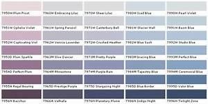 Farbpalette Wandfarbe Grün : wandfarbe purpur violett lila blau farbpalette benjamin moore farben ideen rund ums haus ~ Indierocktalk.com Haus und Dekorationen