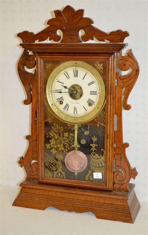 sold price antique seth thomas walnut kitchen clock ts