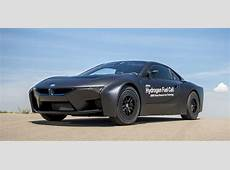 BMW hydrogen fuel cell prototypes revealed photos