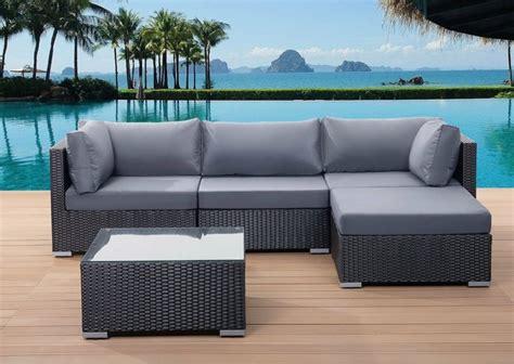canapé de jardin canapé de jardin pour la détente à l 39 extérieur