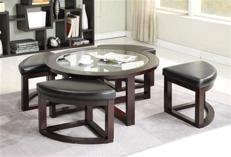 coffee table with pull out seats coffee table coffee table with stools underneath square