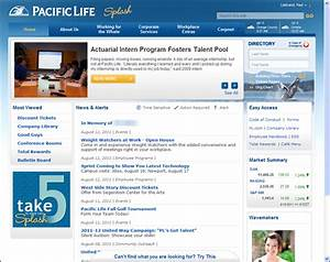 Paul liebrand39s weblog for Company intranet template
