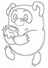 Honey Coloring Pages Coloringway sketch template